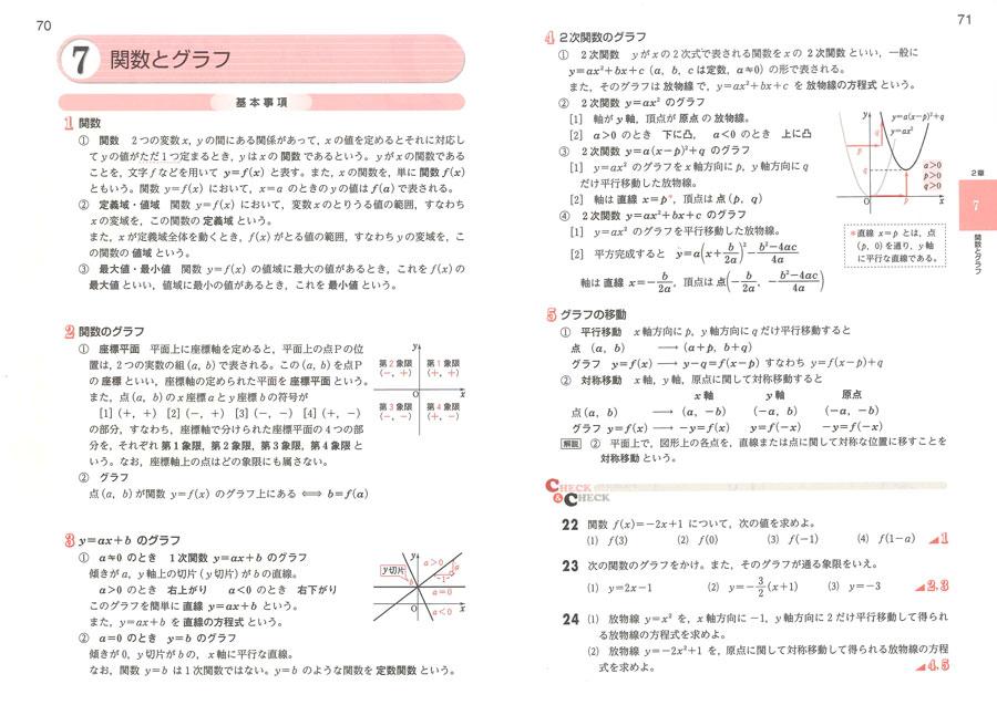 ... 解法と演習 数学II」内容紹介 : 中学校 数学 問題集 : 中学