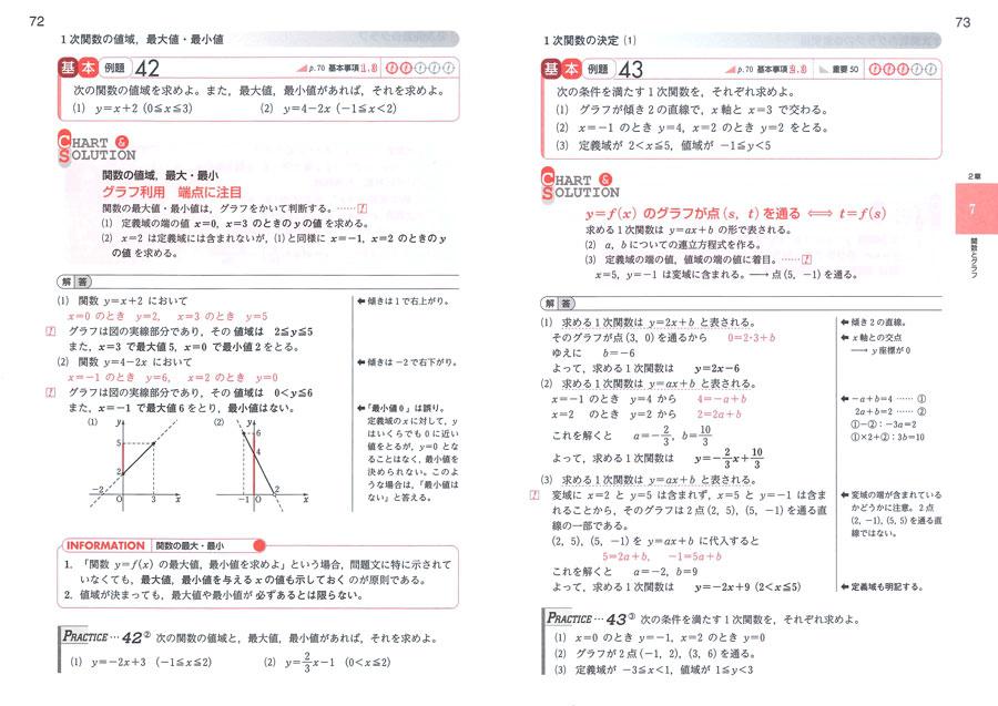 中学 中学生の問題集 : 新課程 チャート式 解法と ...