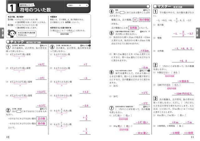 教科書準拠ワークチャート式の数研出版