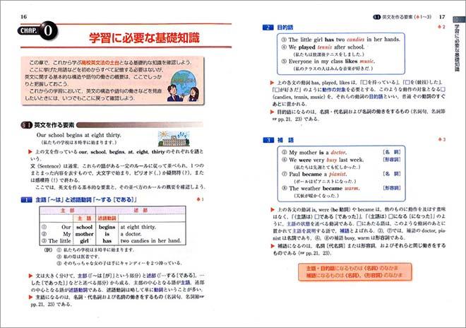 チャート式シリーズ 基礎からの新々総合英語 内容