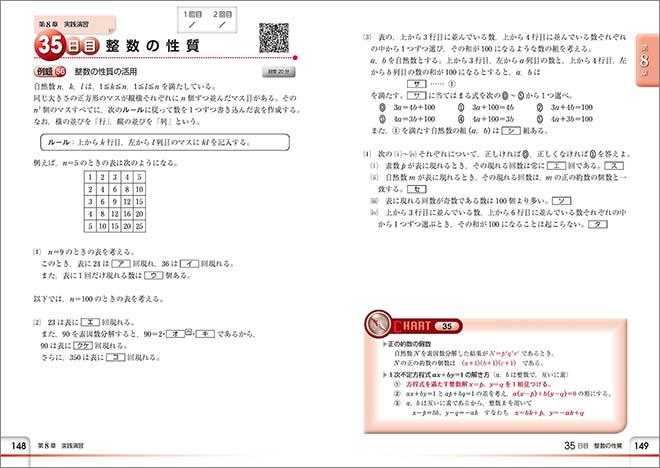 チャート式問題集シリーズ 35日完成! 大学入学共通テスト対策 数学IA 内容1