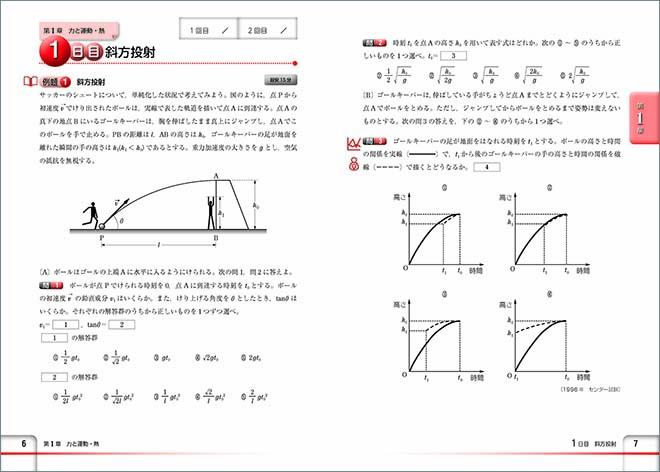 チャート式問題集シリーズ 35日完成! 大学入学共通テスト対策 物理 内容1